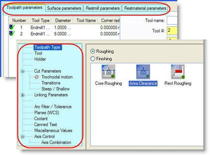 Tool Settings tab in Machine Group mastercam – Cad cam Engineering