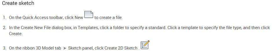 Create sketch autodesk inventor – Cad cam Engineering WorldWide