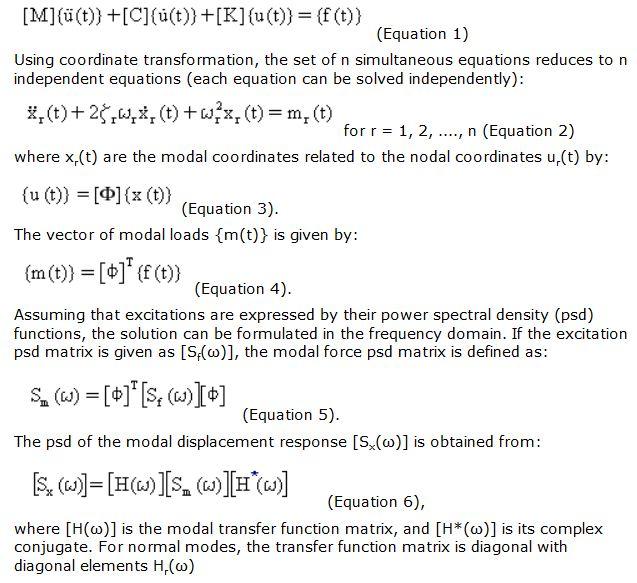 Analysis Procedure – Random Vibration solidworks simulation