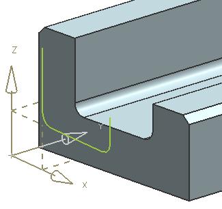 Project Curve siemens NX – Cad cam Engineering WorldWide