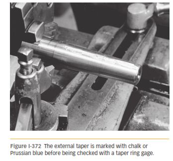 METHODS OF MEASURING TAPERS 372