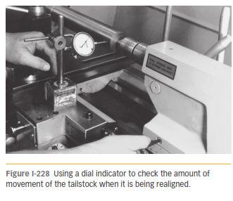 USE OF A TEST BAR AND MACHINING 228