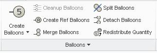 Creating BOM Balloons 1