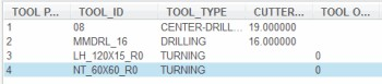 Retrieving Turning Tool Data 2