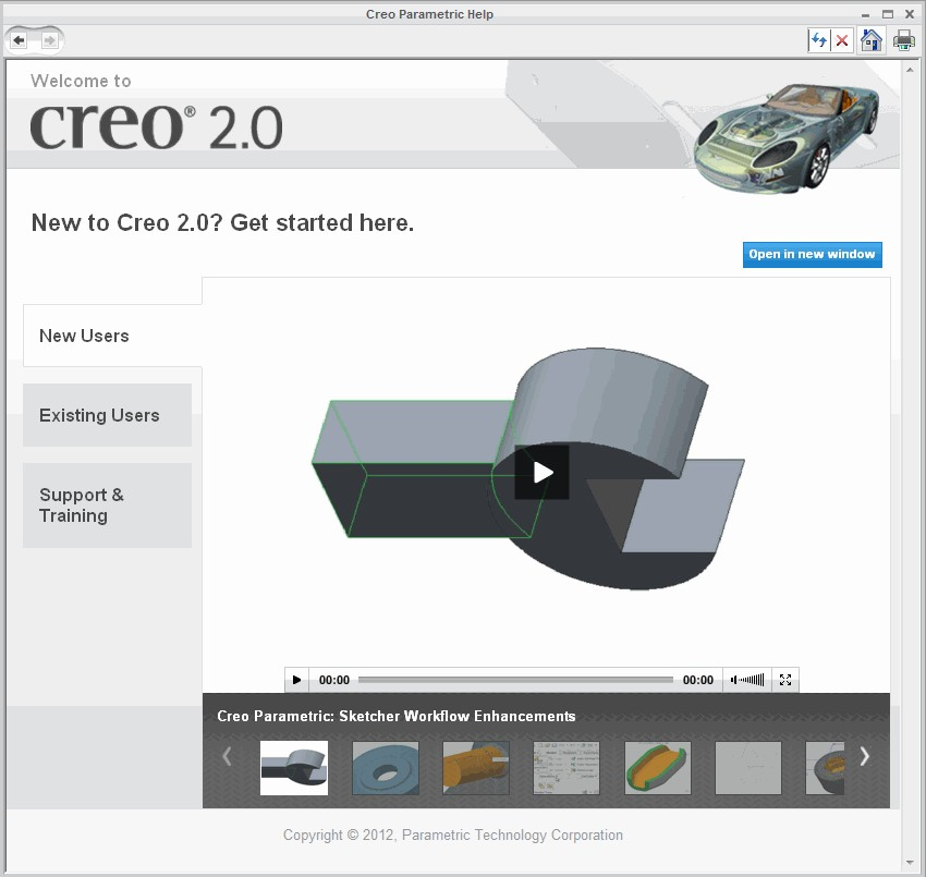 Using Creo Parametric Help – Cad cam Engineering WorldWide