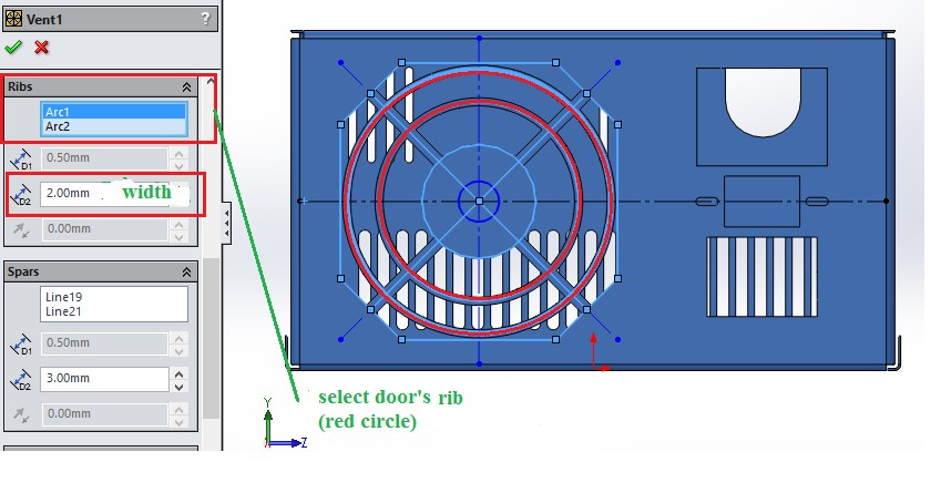 Solidworks Tips Creating Ventilators On Sheet Detail By