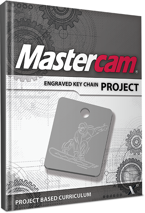 Mastercam X6 Project – Engraved Key Chain – Cad cam