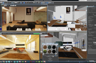 3Ds MAX 2010 lighting
