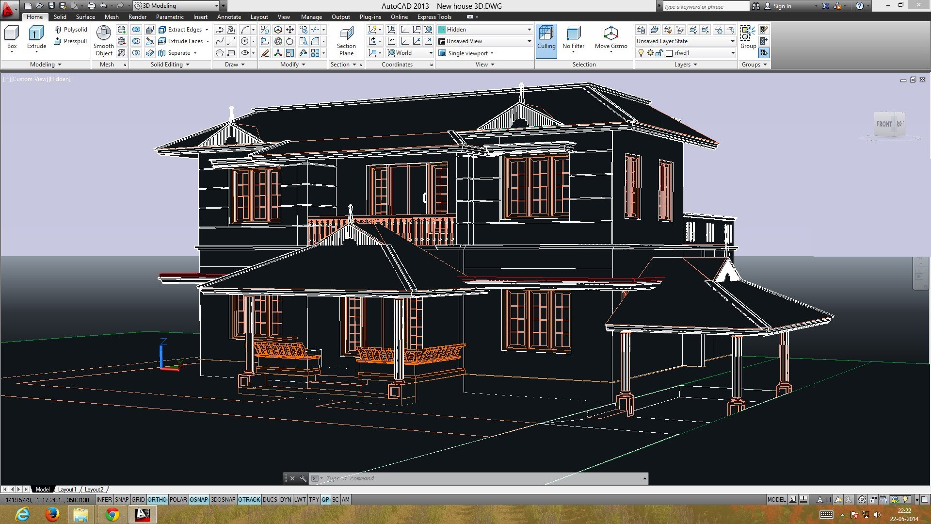 Autocad 3d training manual cad cam engineering worldwide House cad drawings